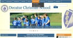 Decatur Christian School - site redesign